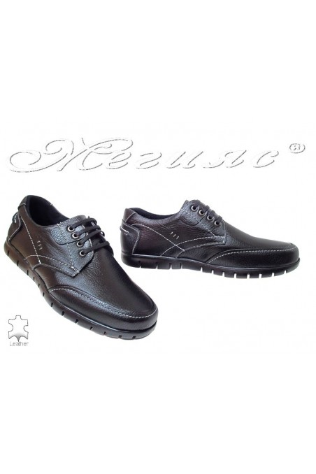 Men shoes Fenomens 913 black leather