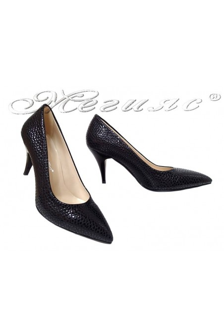 Lady elegants shoes 511 black pattent