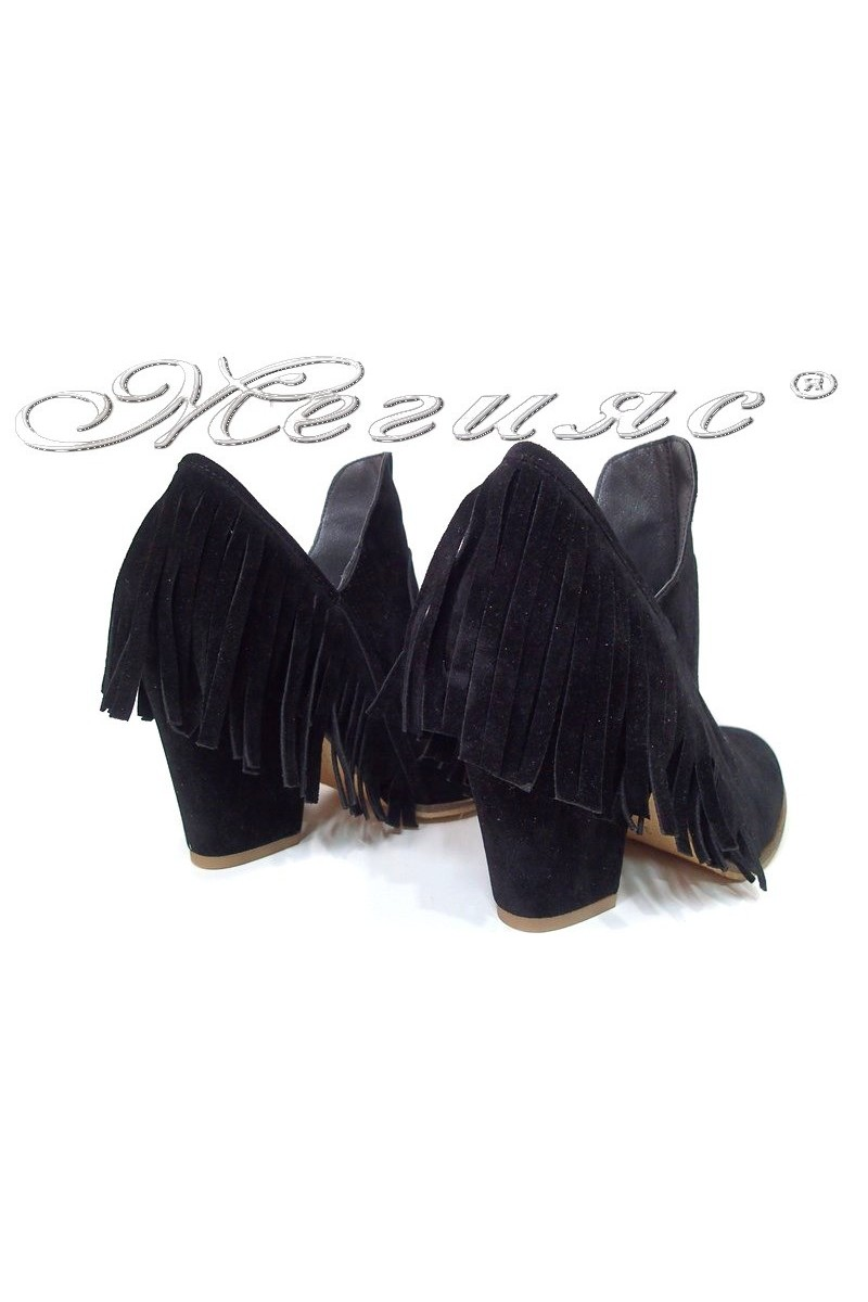 Lady boots 225 black suede
