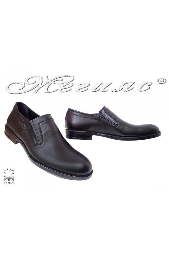 Men shoes Fenomens 932 black leather
