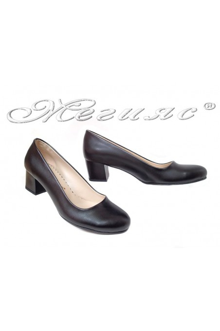 Lady casual shoes 07 black pu