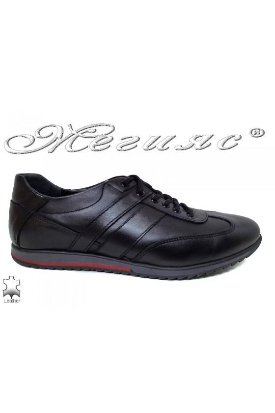 Men sport shoes 5000 black leather