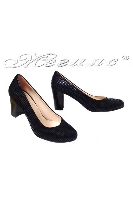 Women elegant shoes 99 black pu
