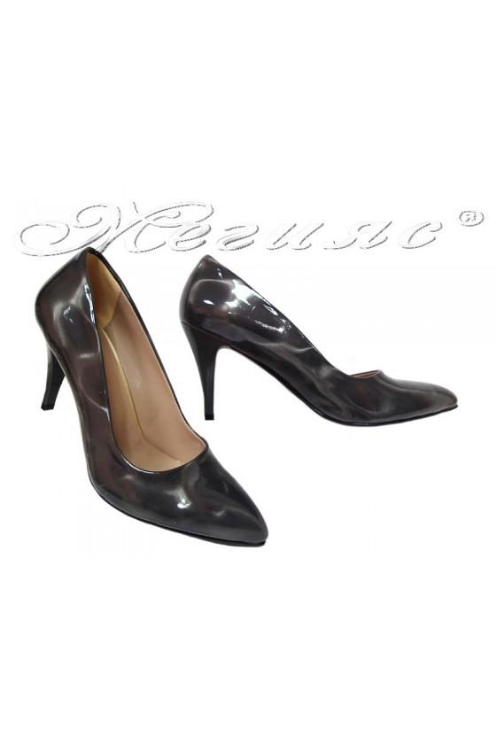 Lady eleganst shoes 150 dark grey