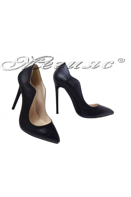Lady elegant shoes 1019 black