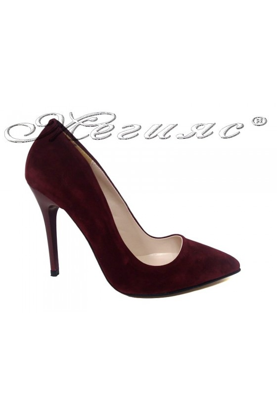 Lady elegant shoes 5596 red