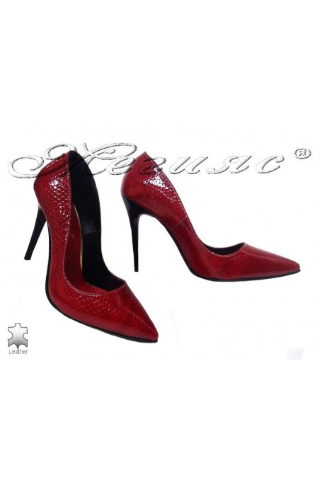 Lady elegant shoes 207 red