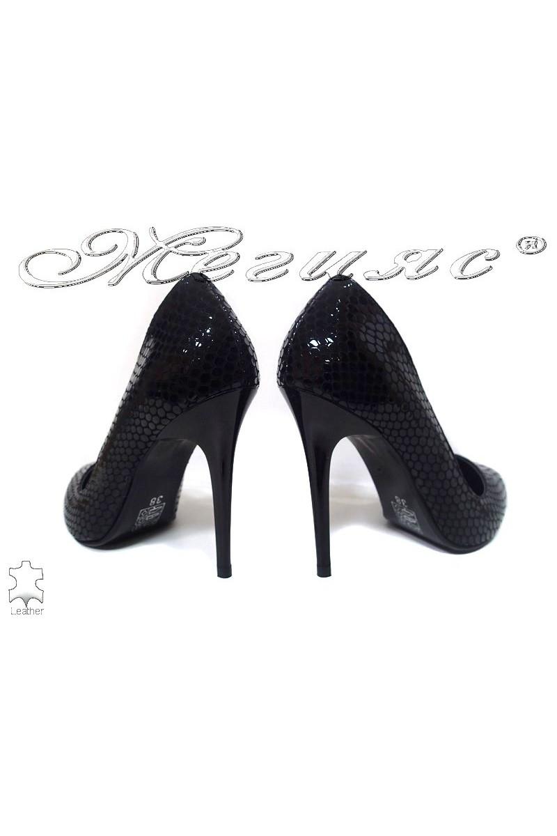 Lady elegant shoes 207 black