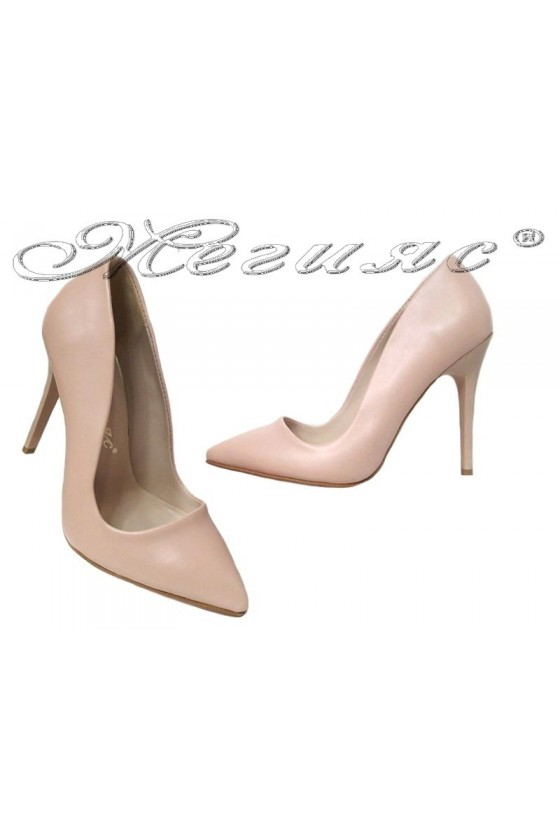 Lady elegant shoes 5596 beige