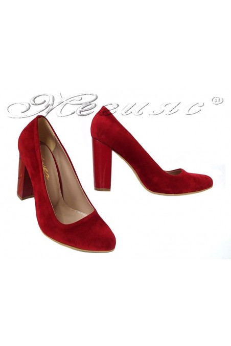 Lady shoes 706 red