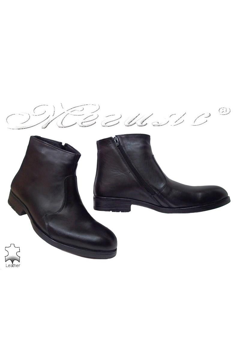 Men's boots Fantazia 4-G black leather