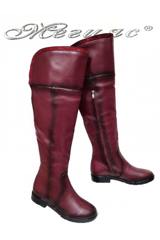 Lady boots 220 red