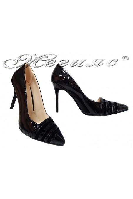 Lady shoes 01515 black