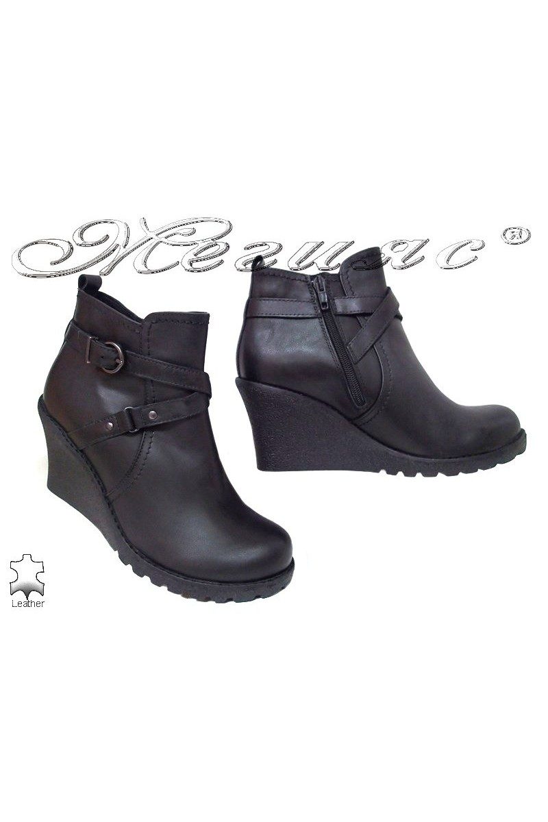 Lady boots GN black leather