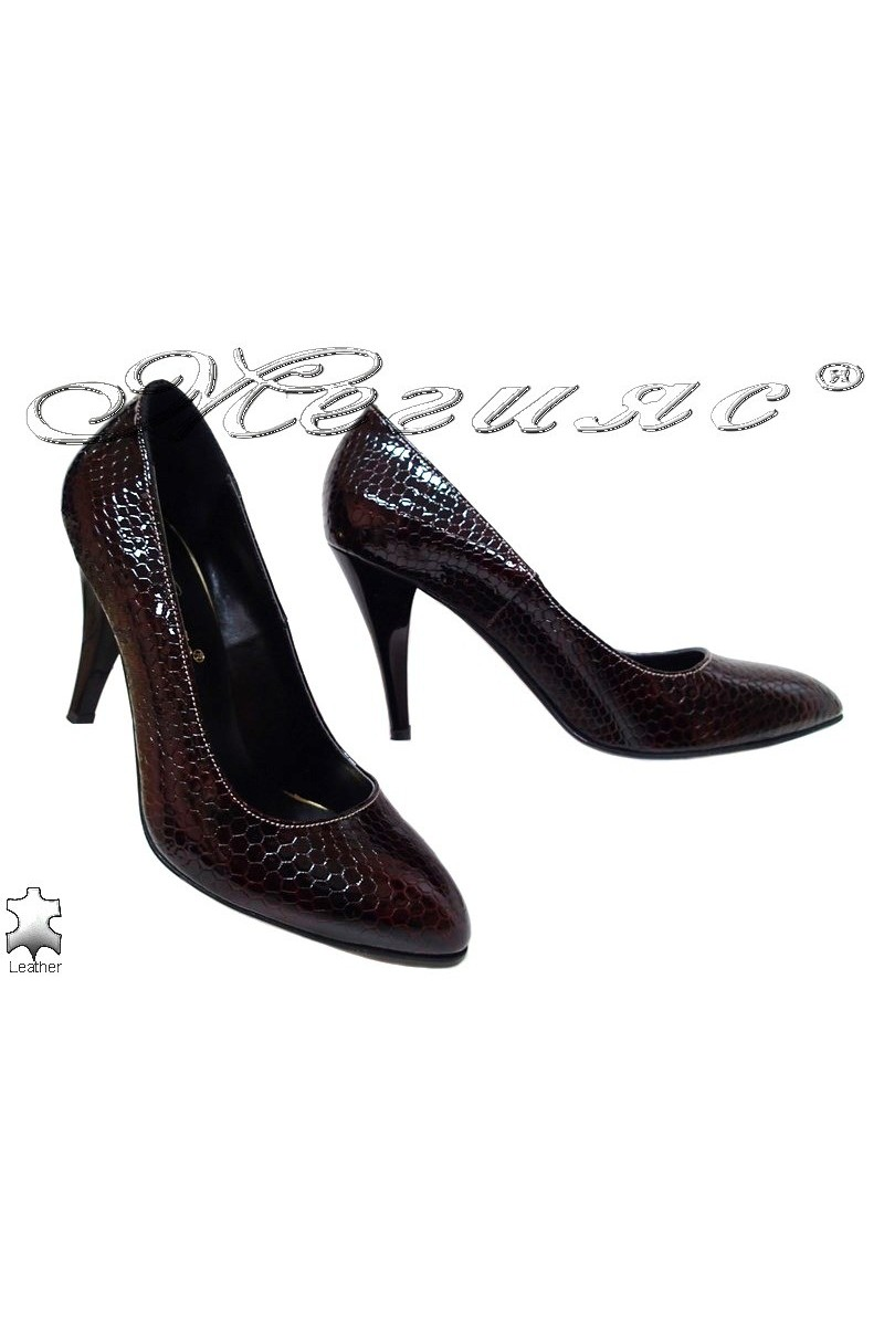 Lady shoes 250-76 red