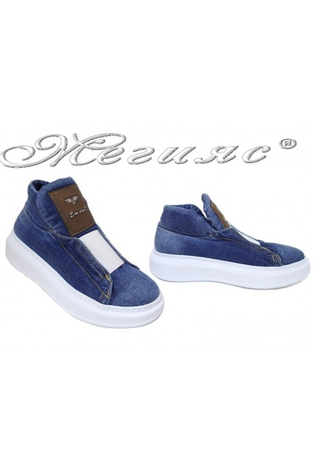 Lady shoes 15-09-357 jeans