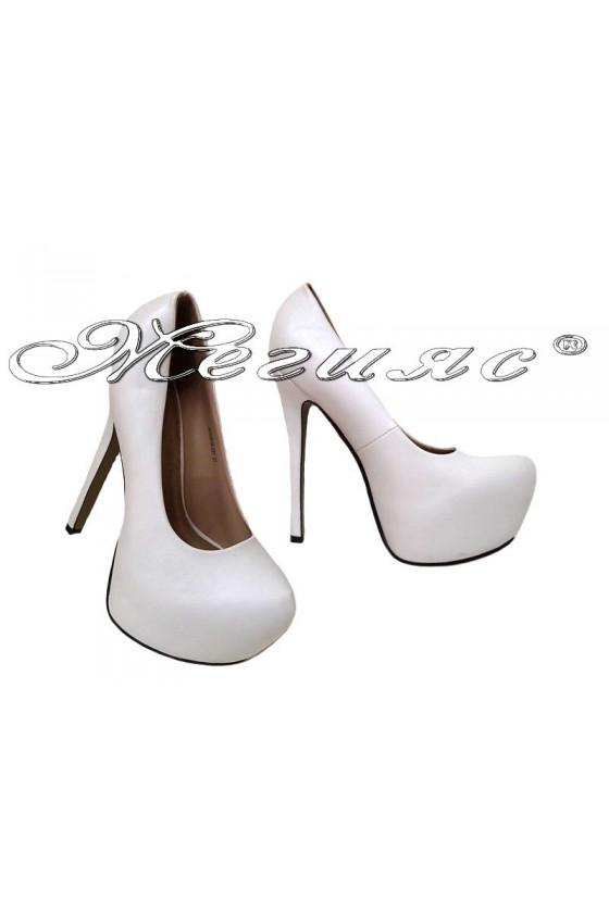 Дамски обувки JESS 2016-251 бели еко кожа