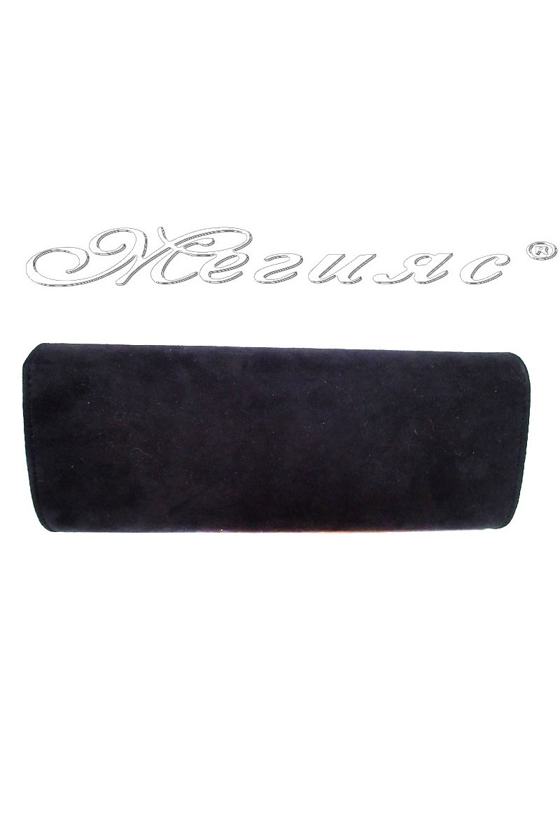 Woman bag 4734 black suede