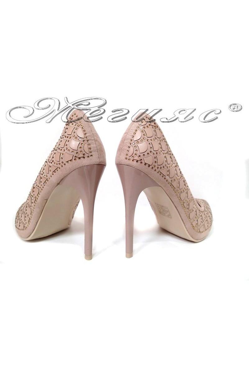 lady shoes 2016-01 beige