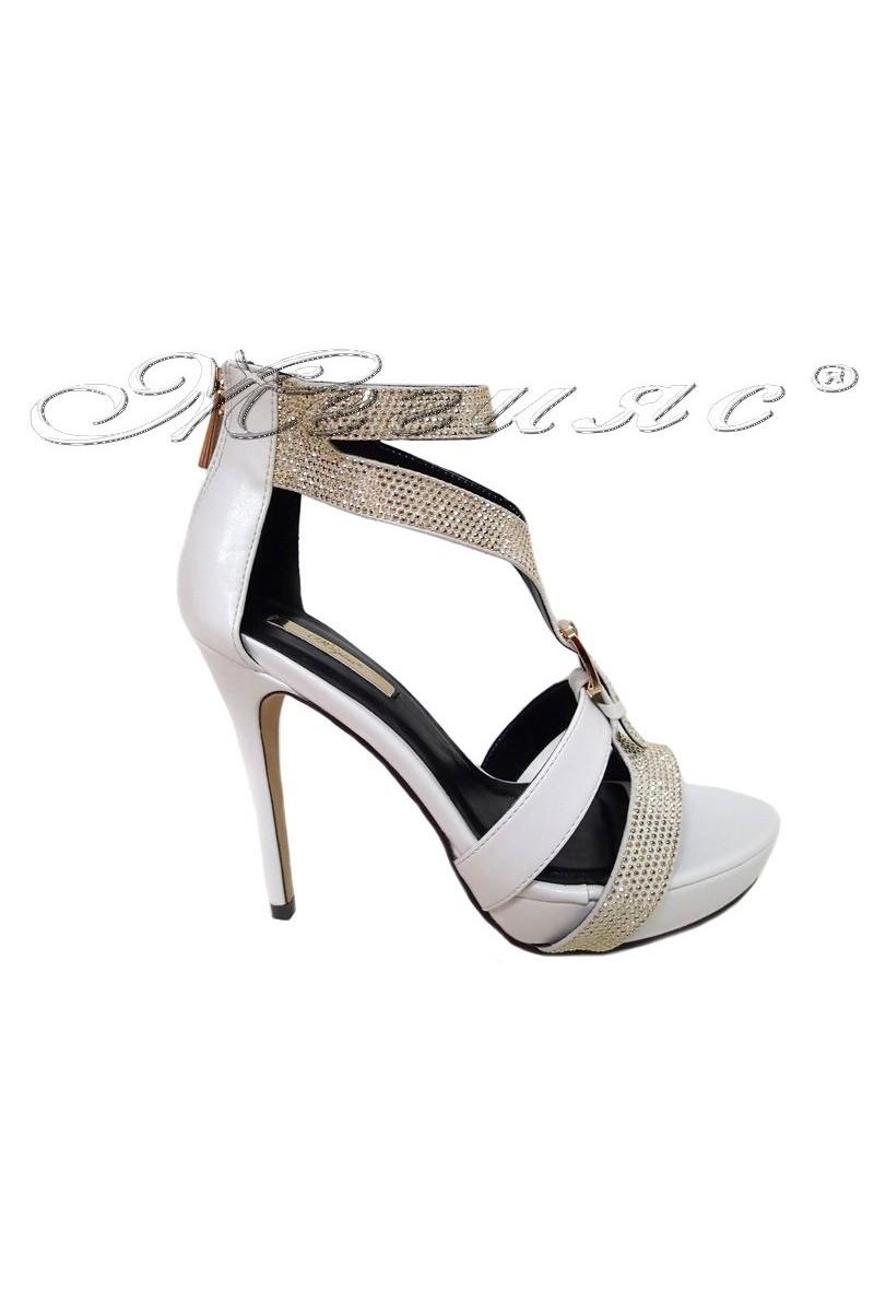 Lady shoes JENIFFER 2016-238 white