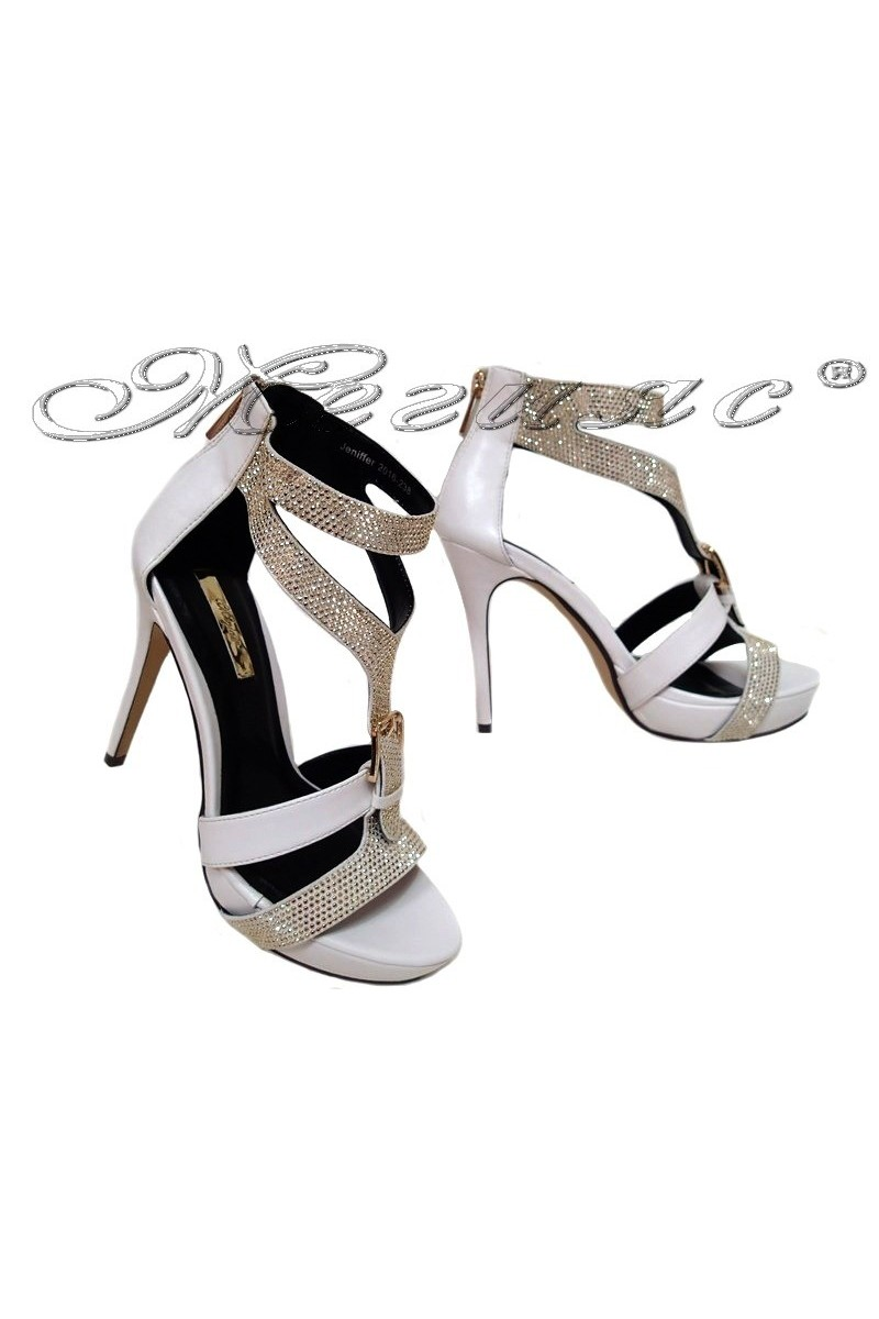 Lady shoes JENIFFER 2016-238 white