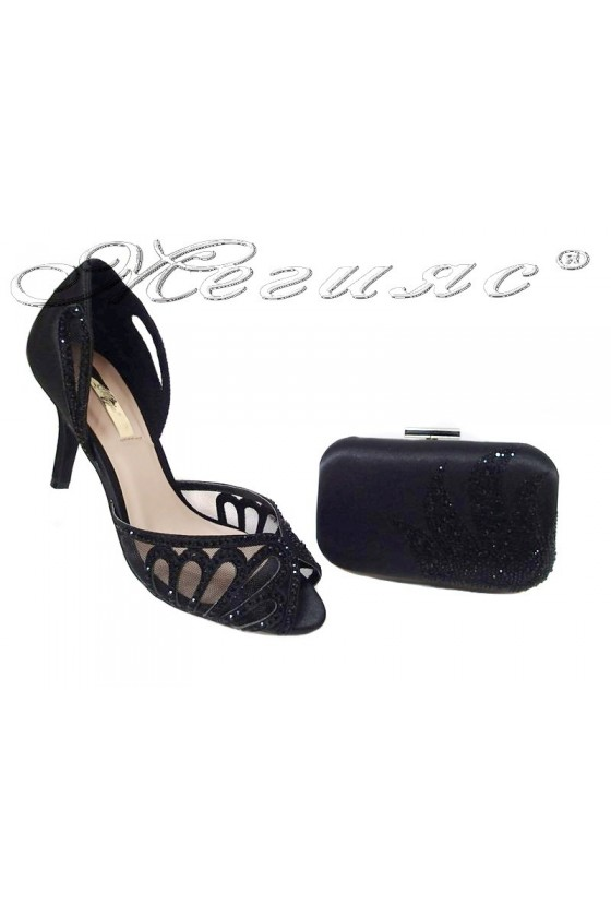 Lady shoes JENIFFER 2016-235 black and bag Jeniffer 230 black