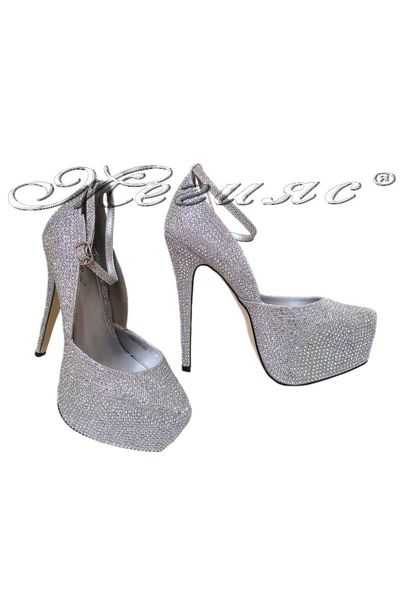 Lady shoes TINA 114 303 silver