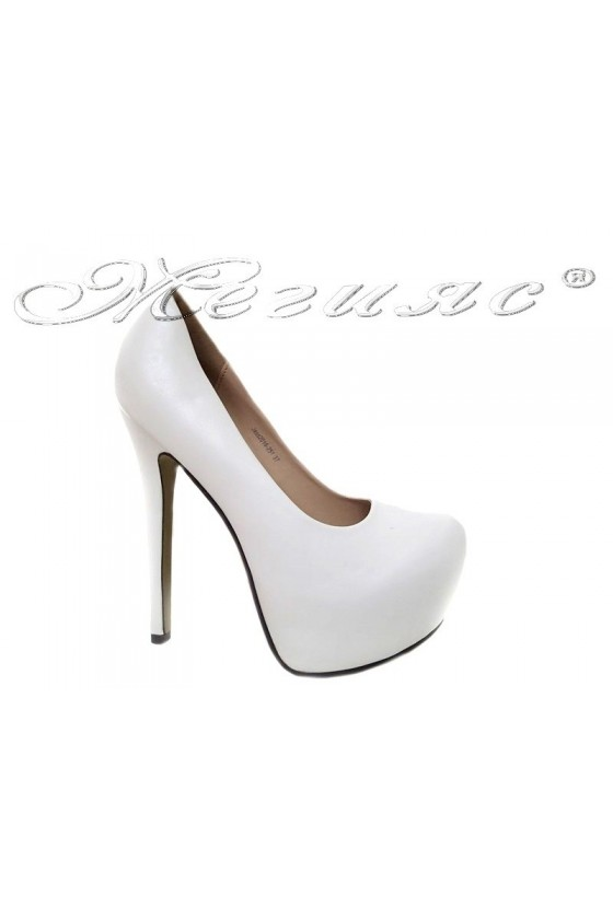 Lady shoes 2016-251 white