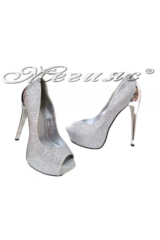 Lady shoes K.TINA 20S16-103 silver