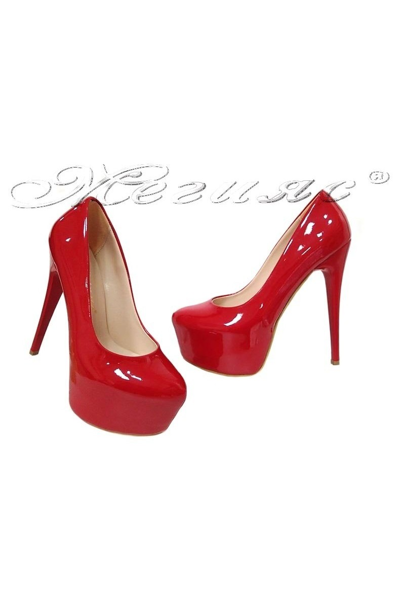 Lady shoes 50 red