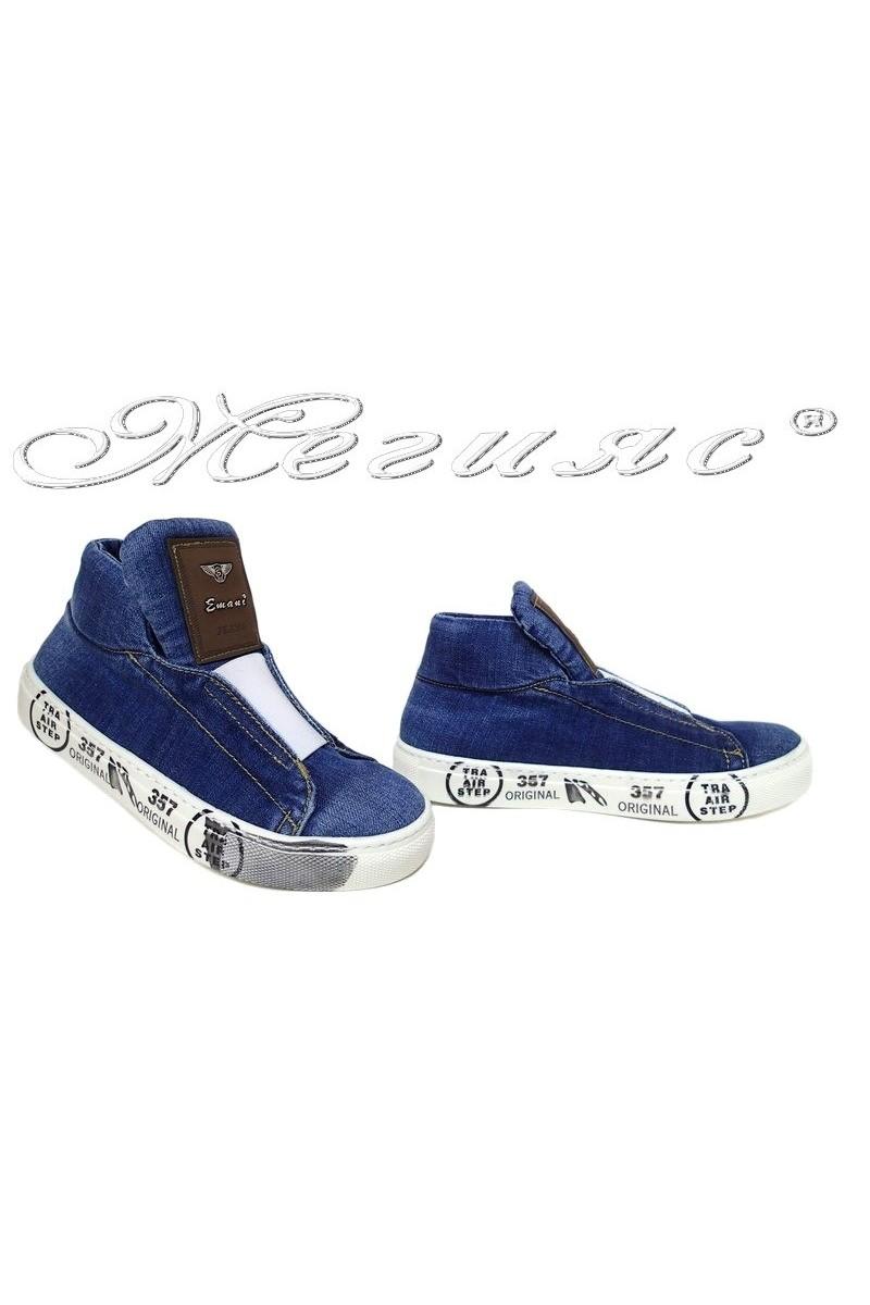 Lady shoes 15-09-357 jeans