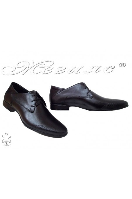 Men shoes Fantazia 16036 black leather