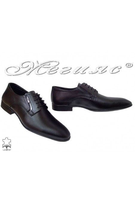 Men shoes Fantazia 16001 black leather