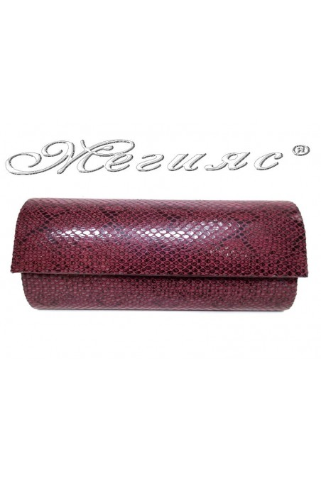 Lady bag 373 wine snake pu