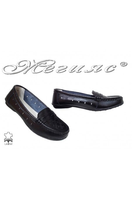 Women shoes 20S16-144 black leather