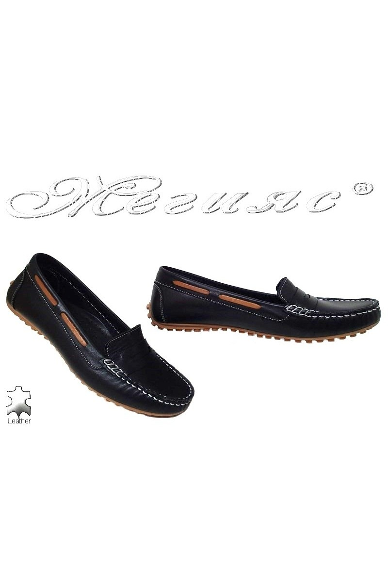 Women shoes 800 black leather