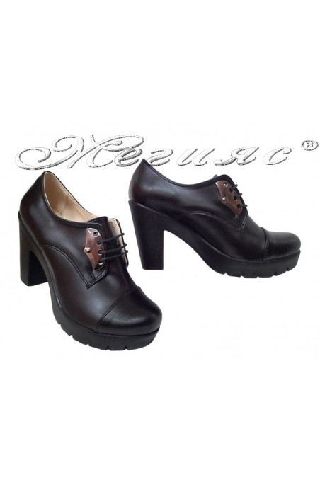 Women shoes 153 black pu