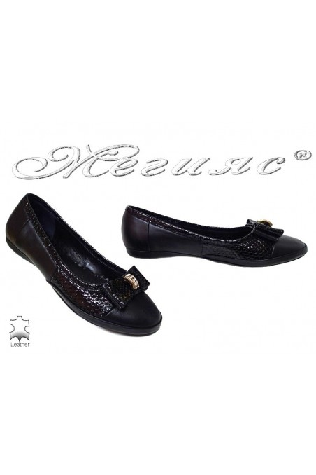 Women shoes 2009 black leather