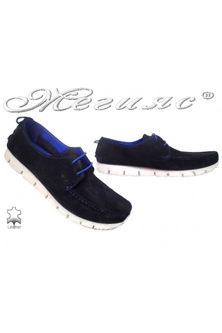 Men shoes TREND 475 black leather
