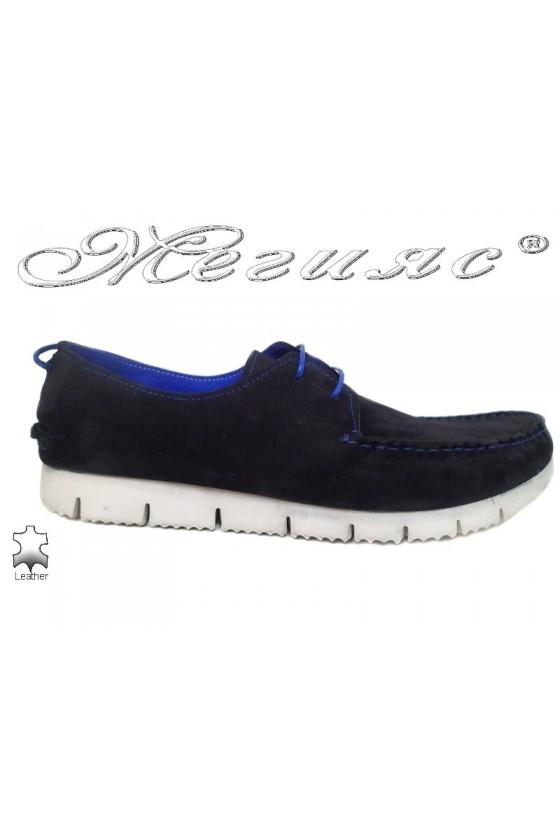 Men shoes TREND 475  black leather
