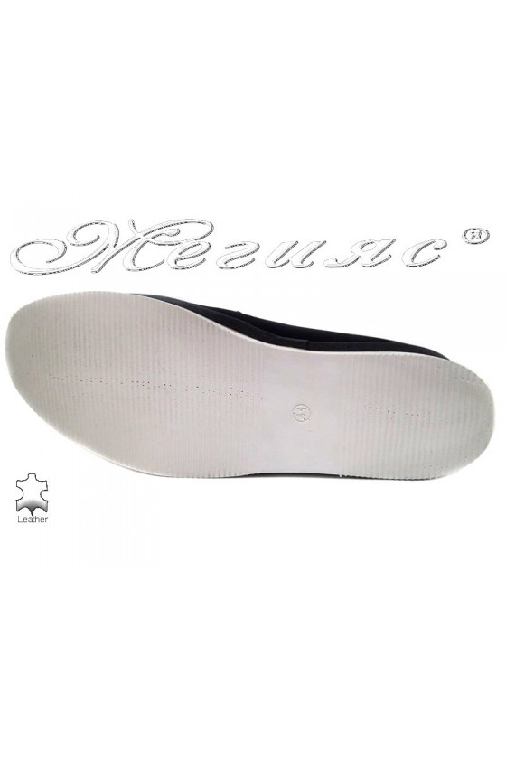Men shoes PUFFY 753 black leather