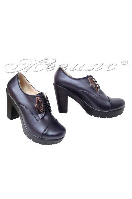 Women  shoes 153 blue pu