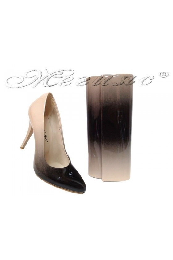 lady shoes 162 and bag 373 beige
