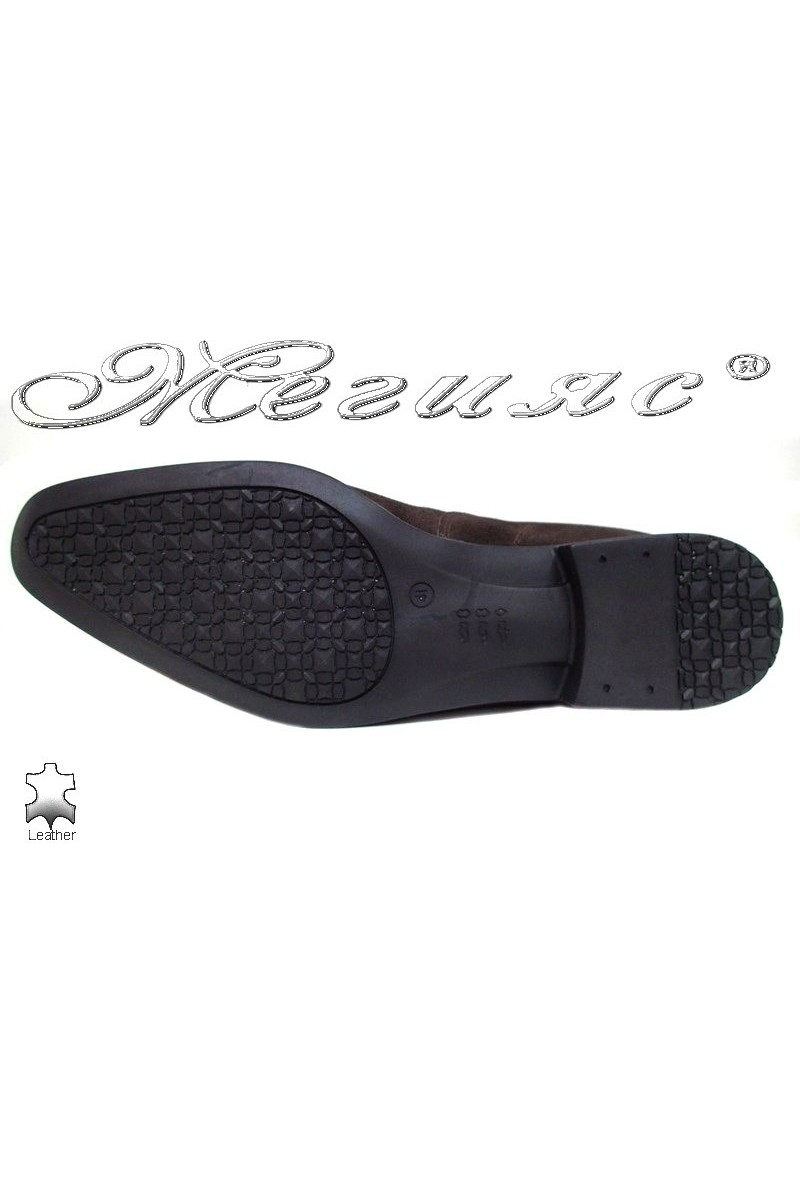 Men shoes ATO 0505 brown leather