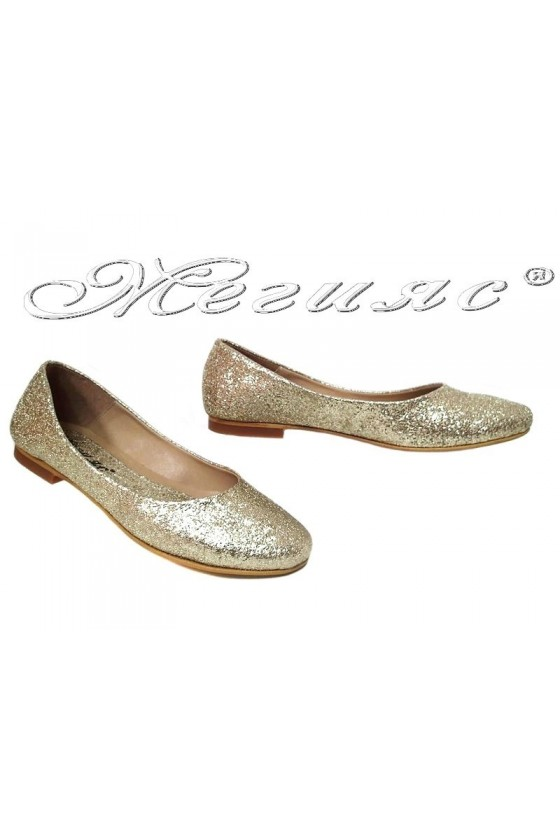 Lady shoes 101-31 gold