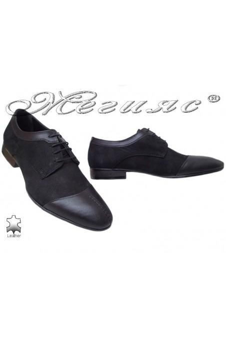 Men shoes FENOMEN 347 black leather