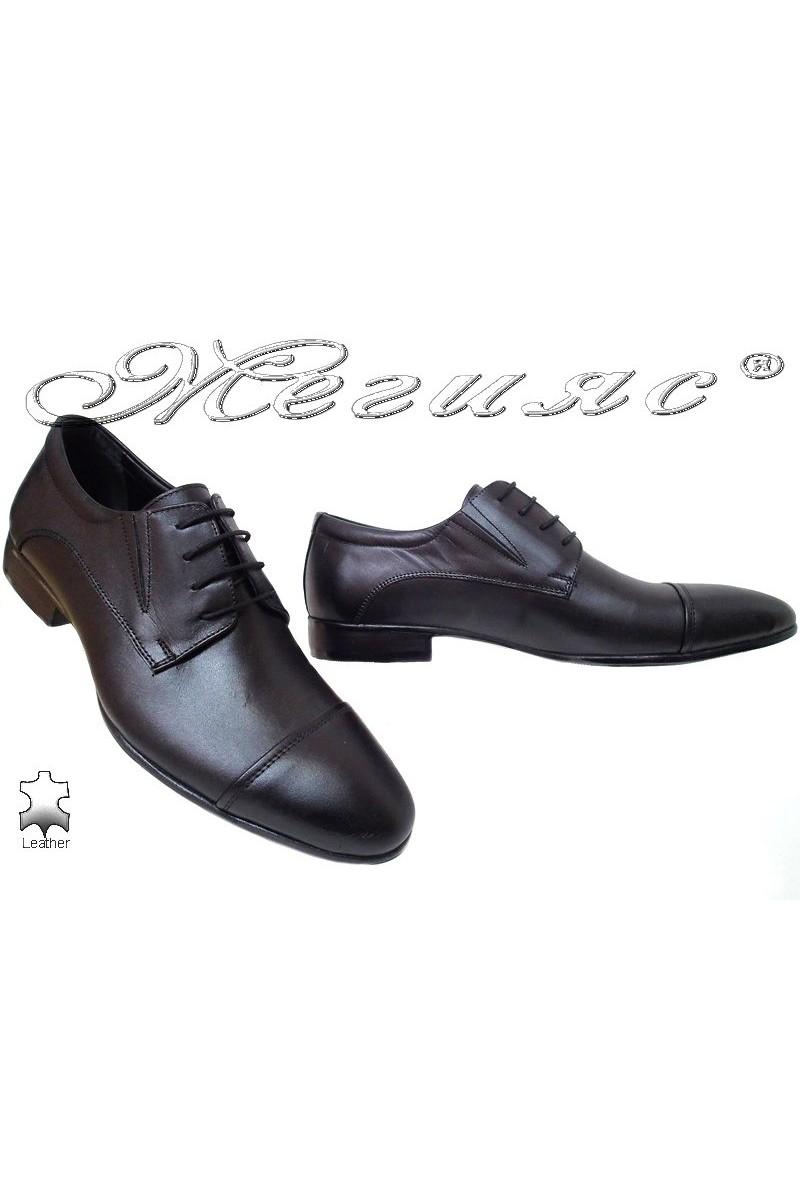 Men shoes FENOMEN 245 black leather