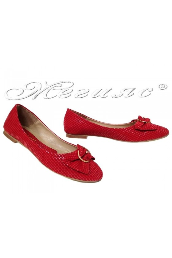 Lady shoes XXL 102-43 red