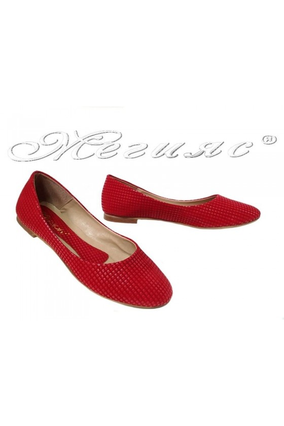 Women shoes XXL 101-37 red