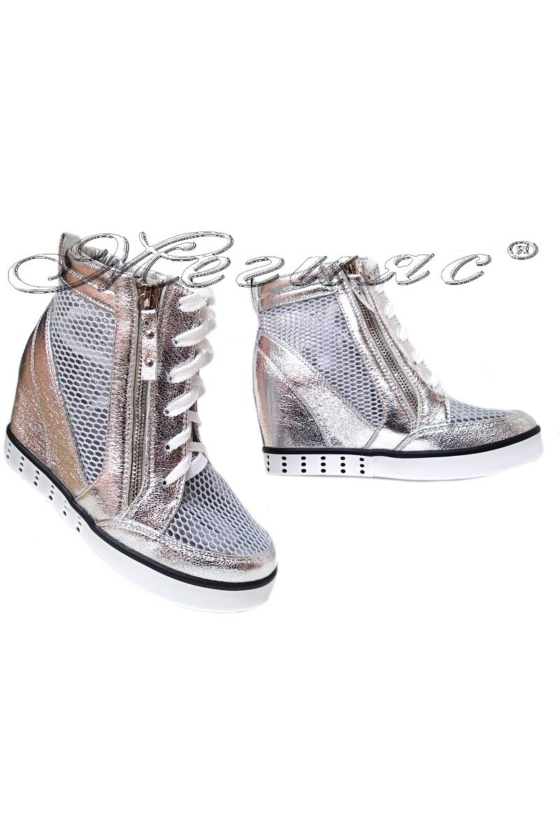 Lady shoes LINA 2016-396 silver